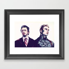 Stony Framed Art Print