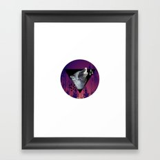 Witchy Wolf Framed Art Print