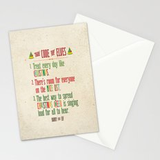 Buddy the Elf! The Code of Elves Stationery Cards