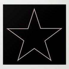 star 4 Art Print