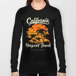 Newport Beach California Long Sleeve T-shirt