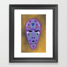 Dream time Alien Framed Art Print