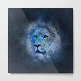 astrology lion Metal Print