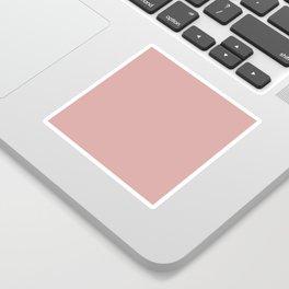 Rose Blush D9A6A1 Sticker
