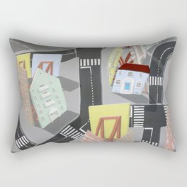 showville - urban living Rectangular Pillow