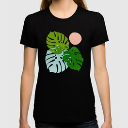 Abstraction_FLORAL_NATURE_Minimalism_001 T-shirt