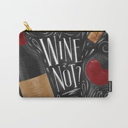 Wine not black Carry-All Pouch