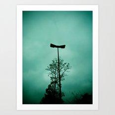 Pole without light Art Print