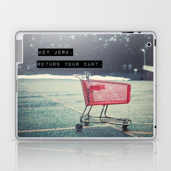 Grocery Cart Rage  Laptop & iPad Skin