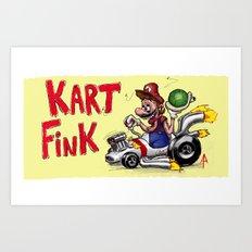 Kart Fink Big Bro! Art Print