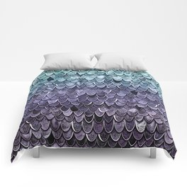MAGIC MERMAID - MYSTIC TEAL-PURPLE Comforters