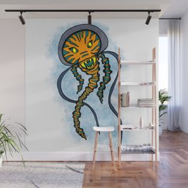 The Caped Jelly Wall Mural