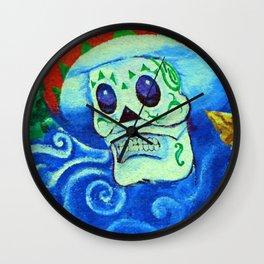 Muerto con mi sombrero fine art photography Wall Clock