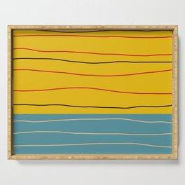 Minimal Abstract Art - Badalisc Serving Tray