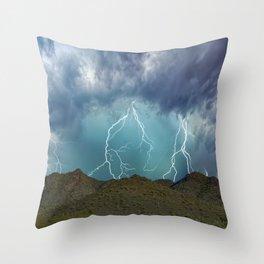 Monsoon Mojo Throw Pillow