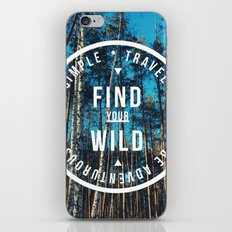 find your wild iPhone & iPod Skin