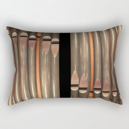 those pipes! Rectangular Pillow