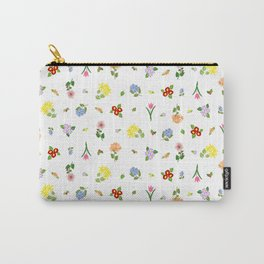 Flowers and More Flowers Carry-All Pouch