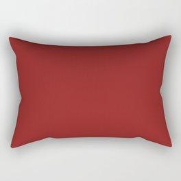 Terracotta Red Rectangular Pillow