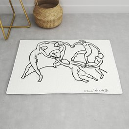 Henri Matisse The Dance and Music Line Artwork Hermitage Sketch For Prints Tshirts Posters Bags Men Rug