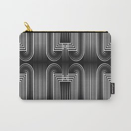 Art Deco 32 . Graffiti black and white Carry-All Pouch