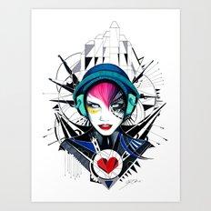 -War in my Heart- Art Print