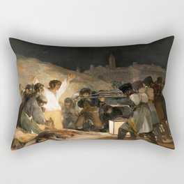 The Third of May by Francisco Goya, 1814 Rectangular Pillow