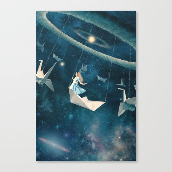 My Favourite Swing Ride Canvas Print