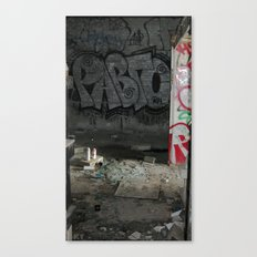 Demolished Providence Canvas Print