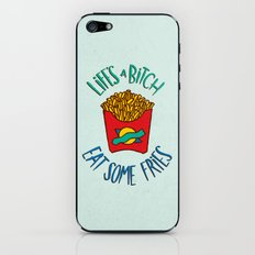 Eat Some Fries iPhone & iPod Skin