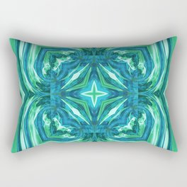 Tropical Leaf Fashion Design Rectangular Pillow