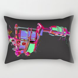 illuminated tattoo machine Rectangular Pillow