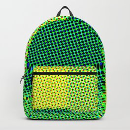 Green abstract dots Backpack