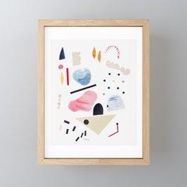 toy piano Framed Mini Art Print