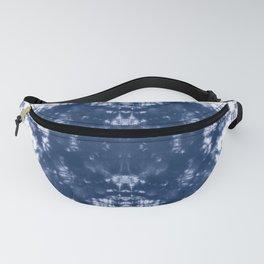 Shibori Tie Dye 2 Indigo Blue Fanny Pack