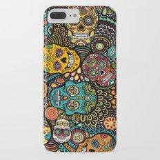 Calavaras - Day of the Dead Skulls iPhone 7 Plus Slim Case