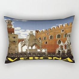 Vintage poster - Verona Rectangular Pillow