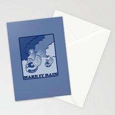 Make It Rain Stationery Cards