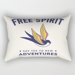 Cool Vintage Quote Rectangular Pillow