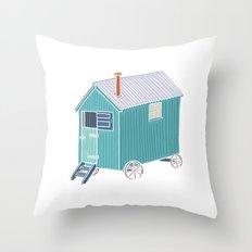 Little Shepherd Hut Throw Pillow