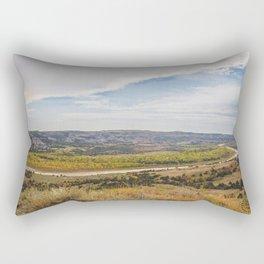 Badlands, Theodore Roosevelt NP, ND 23 Rectangular Pillow