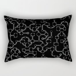 Metal covers Rectangular Pillow