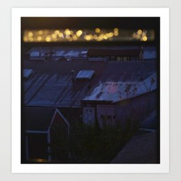 Lights in the Distance Art Print