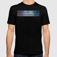 The Symphony Mens Fitted Tee MEDIUM Black