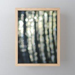 Water Abstract (Bokeh Effect), Royal Canal, Dublin Framed Mini Art Print