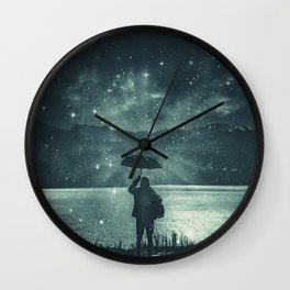 Sideral Rain Wall Clock