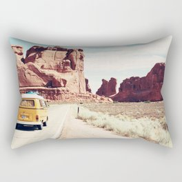 Endless Explore to the World Rectangular Pillow