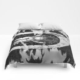 Tomie //Fan Art Illustration// Comforters