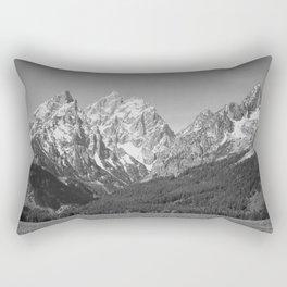 Ansel Adams - Grass Valley and Grand Tetons Rectangular Pillow