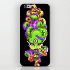 Tentacle Demoness (GREEN version) iPhone & iPod Skin